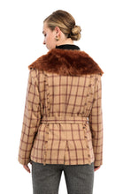 Load image into Gallery viewer, CAWDOR Faux Fur Jacket