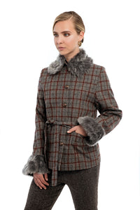 ORACHE Faux Fur Jacket