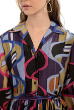 Load image into Gallery viewer, LEWIS Printed Shirt Dress