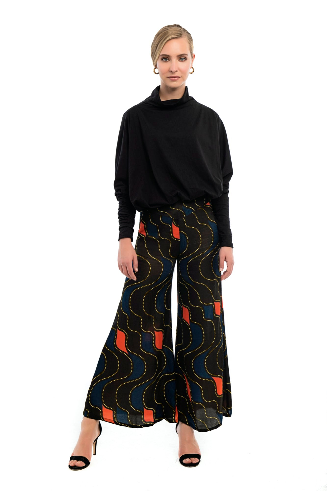 CYCLAMEN Printed Pants
