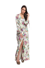 Load image into Gallery viewer, ADMIRALI Wrap Maxi Dress