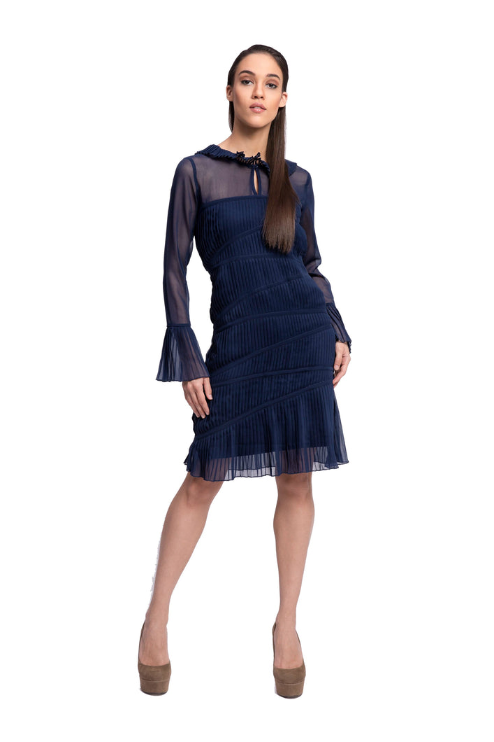 LAELIA Pleated Dress