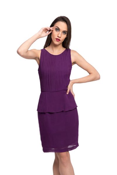 BROOMII Peplum Dress