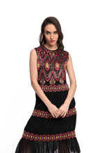 Load image into Gallery viewer, FOSTERI Embroidered Dress