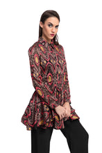Load image into Gallery viewer, AFZELIA Print Tunic Top