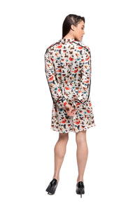 LUTESCENS Printed Shirtdress