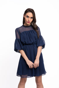 ASPERA Bell Sleeve Dress