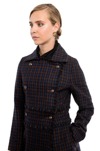 BUCHANAN Plaid Coat