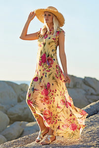 ALPESTRIS floral maxi dress