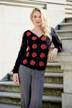 Load image into Gallery viewer, MACKINTOSH Rose Silk Cardigan