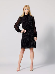 TERES Shift Embellished  Dress