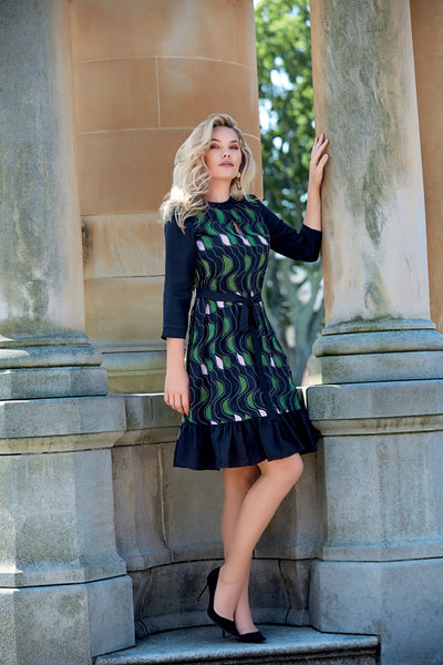 GEILSTON  Embroidered Dress