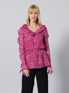CRISPA Silk Printed Top