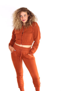 Bossy Sweatsuit Copper