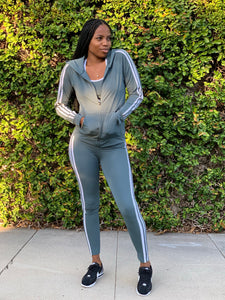 3 Piece Ultra Muse Workout Set (Gray)