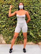 Load image into Gallery viewer, BLM Bodysuit with Facemask (Gray)