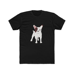 French Bulldog Men's Cotton Crew Tee