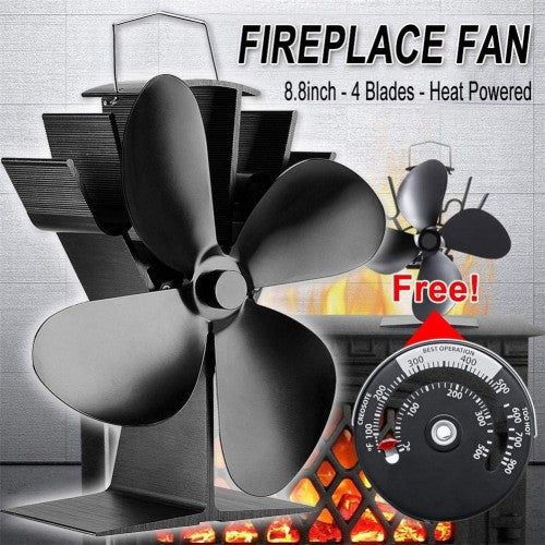 Self Powered Wood Stove Fan