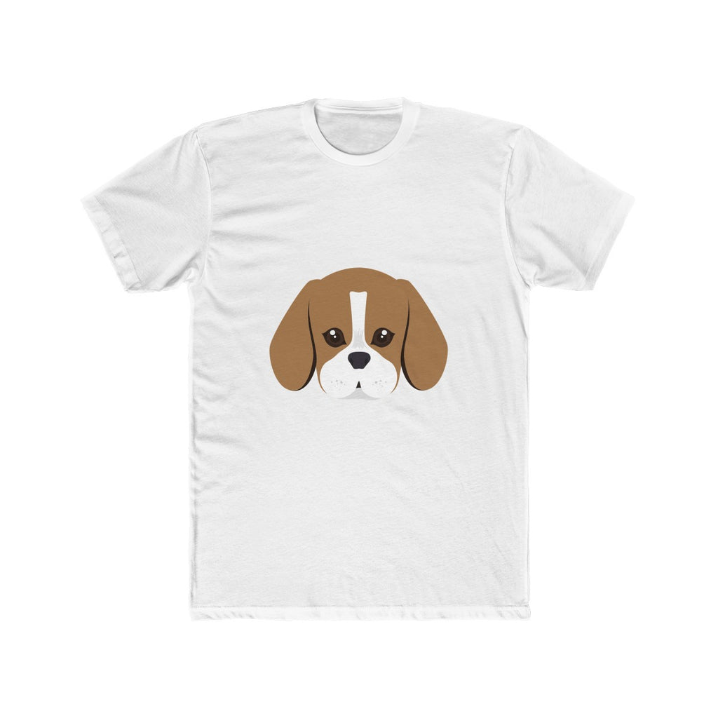 Beagle Men's Cotton Crew Tee