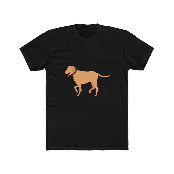 Golden Retriever Men's Cotton Crew Tee