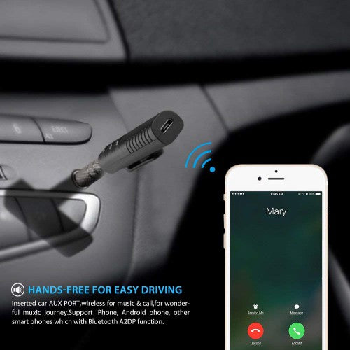 Wireless Bluetooth Car Receiver