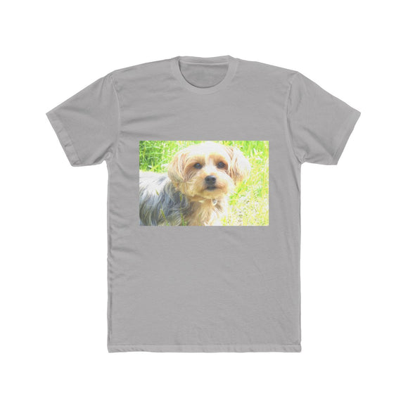 Yorkshire Terrier Men's Cotton Crew Tee