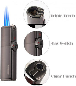 Powerful Triple Jet Torch