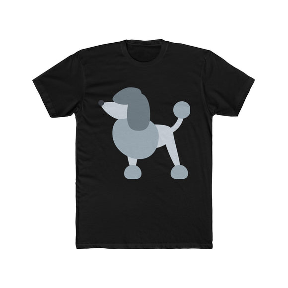 Poodle Men's Cotton Crew Tee
