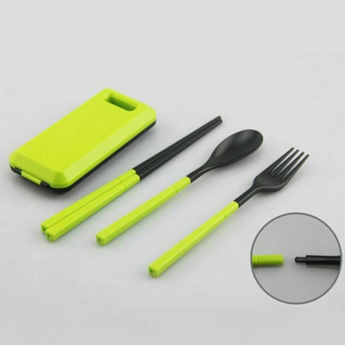 Foldable Travel Dinnerware Set