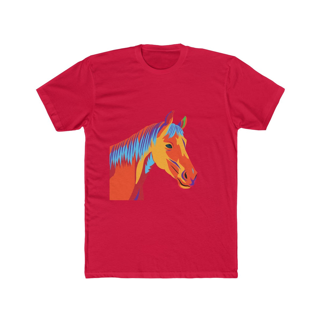Horse in the Barn - Men's Cotton Crew Tee