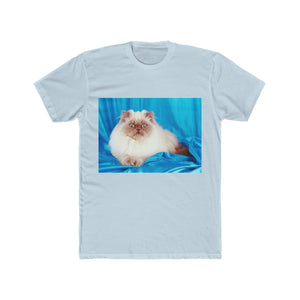 Himalyan Cat Men's Cotton Crew Tee Shirt
