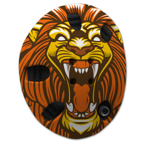 Angry Lion Headgear Wrap