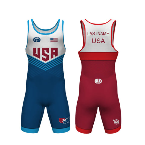 "USA ""Aquila"" Singlet Set LE"