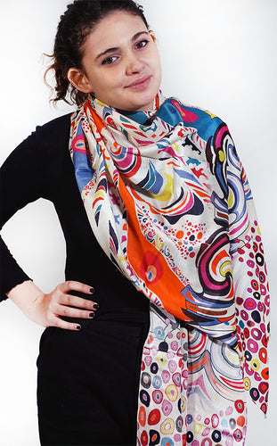 SSMI | Silk Disco Mix Scarf