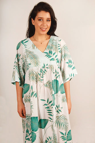 KVDR | Rainforest Vee Dress