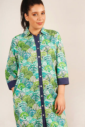 KSDS | Shell Shirt Dress