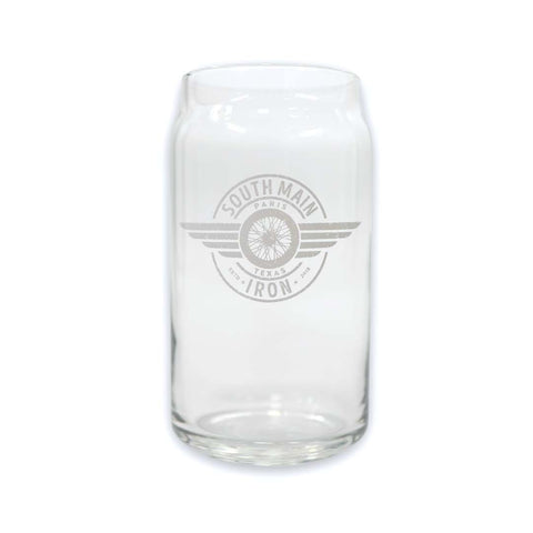 SMI BEER CAN GLASS MUG