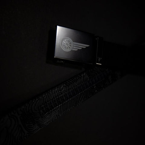 BLACK NYLON MISSION BELT