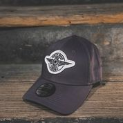 FITTED HAT - GREY - South Main Iron