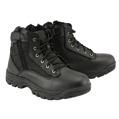 "MENS 6"" LEATHER TACTICAL BOOT - South Main Iron"