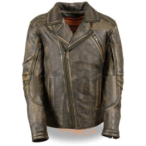 MENS DISTRESSED JACKET