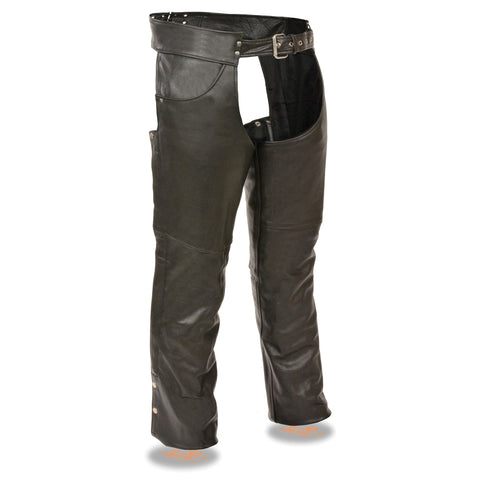 MENS CLASSIC LEATHER CHAPS - South Main Iron