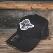 FITTED HAT - BLACK - South Main Iron