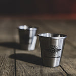 SMI STAINLESS STEAL SHOT GLASS