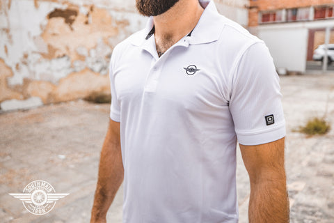 THE MICHELSON - WHITE POLO