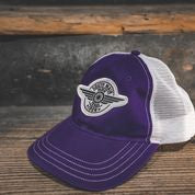 HAT - PURPLE - South Main Iron