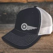 HAT - NAVY-WHITE - South Main Iron