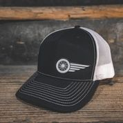 HAT - BLACK-WHITE - South Main Iron