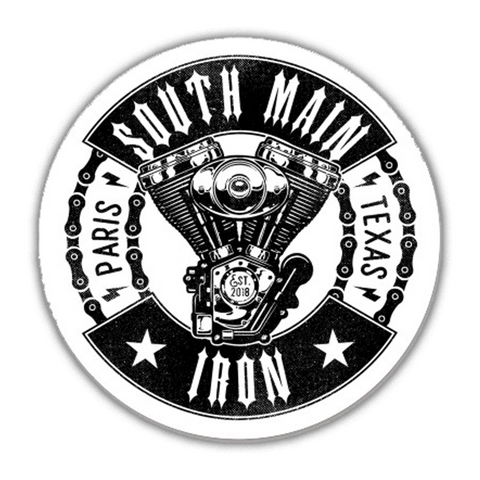 MOTOR & CHAINS STICKER