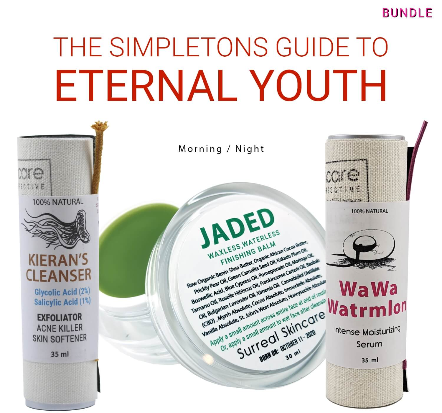 The Simpletons Guide To Eternal Youth - Bundle/Routine